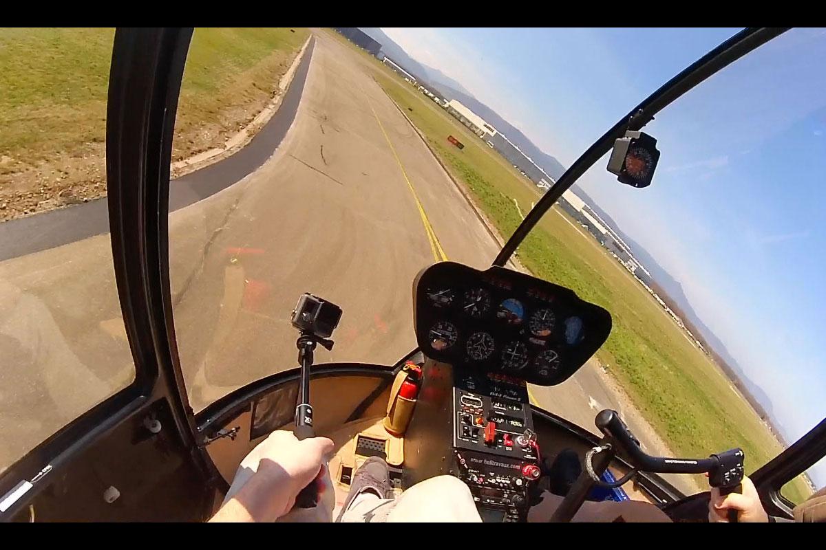 Mon premier baptême d'hélicoptère