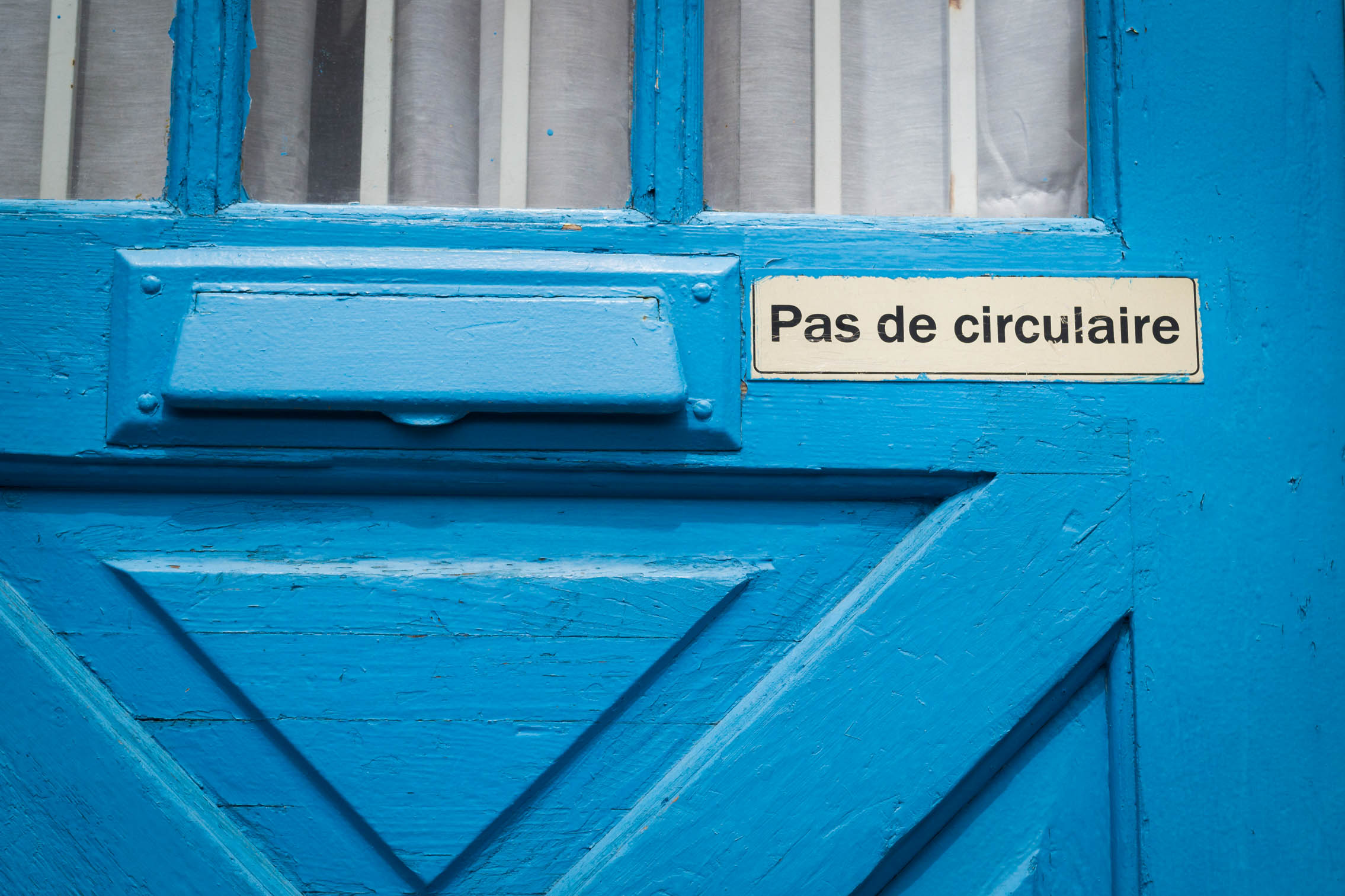 [PROJET 52] #38 Bleu