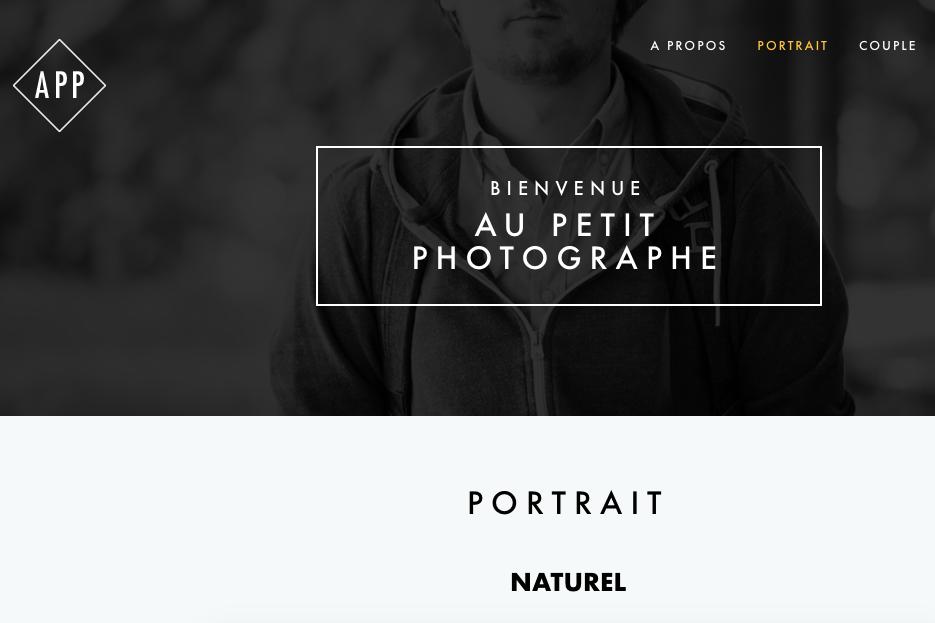 Je vous présente Au Petit Photographe !