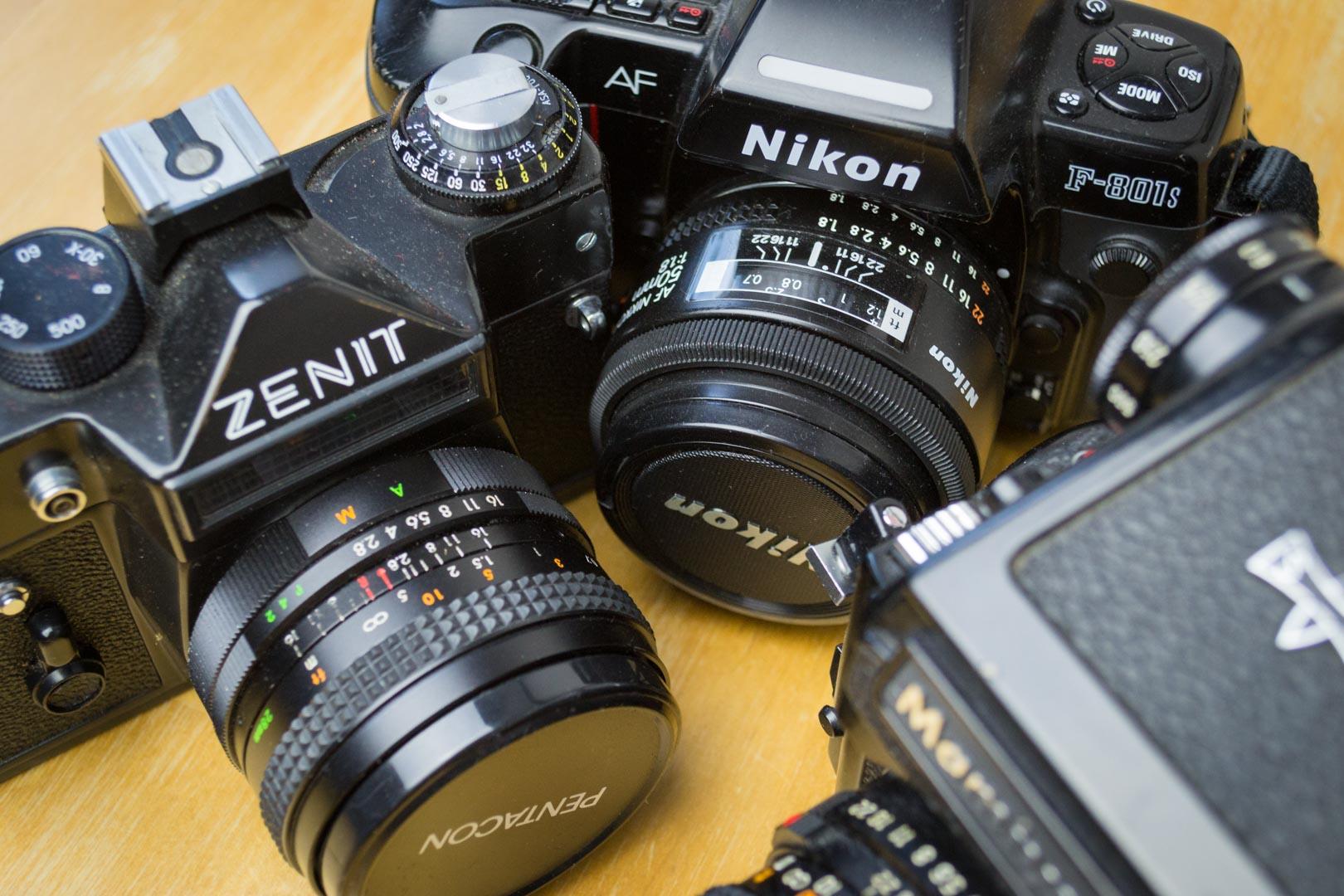 [ARGENTIQUE] Où acheter ses appareils photo argentique ?