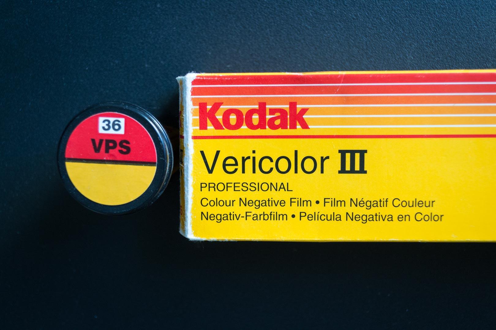Je shoote avec une pellicule périmée (Kodak Vericolor 3)