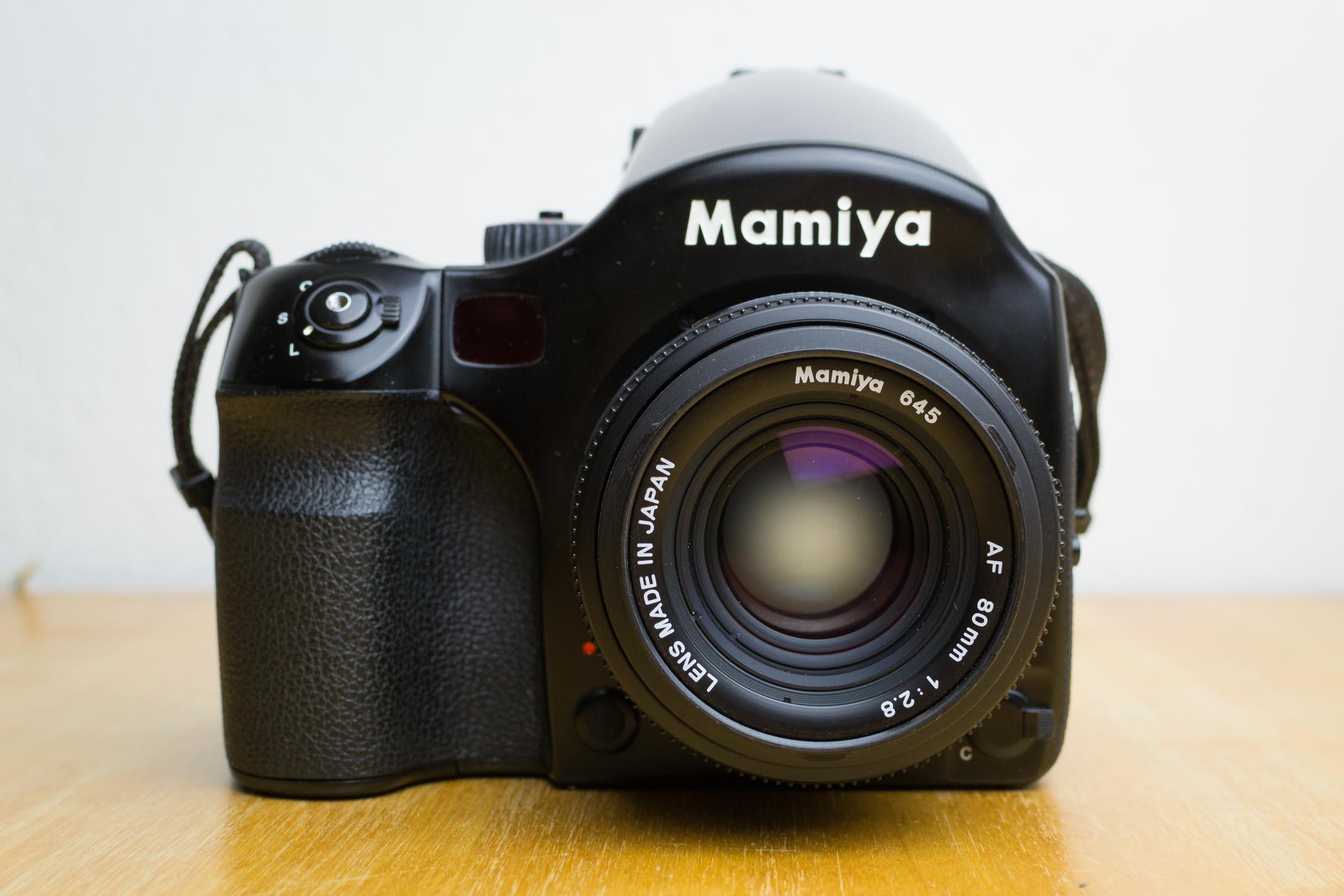 Présentation du Mamiya 645 AF